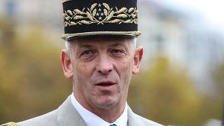 Le général François Lecointre lors des cérémonies commémorant l'Armistice, à Paris, le 11 novembre 2019