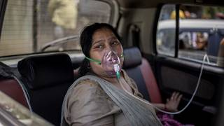 Black market for oxygen in India amid virus surge
