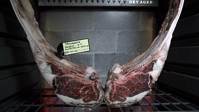 Date tags are used to categorise aging meats