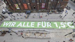 Klimaprotest in Hamburg im März 2019