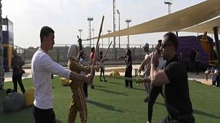 Ancient Egyptian martial art 'tahtib' becomes modern art sensation in Cairo