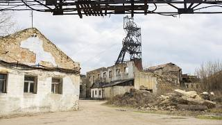 An active coal mine near the frontline. It is coal mines like this which are plannesd to be closed soon.