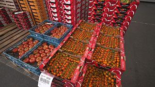Obst- und Gemüseauktion: Handeln mit der Uhr