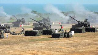 Taiwan realiza exercícios militares