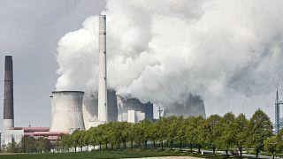 Une centrale au charbon à Neurath, en Allemagne, le 29 avril 2021.