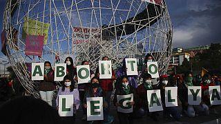Az abortusz legalizásáért küzdő csoport