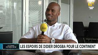 Didier Drogba et ses espoirs pour l'Afrique, en exclusivité sur Africanews