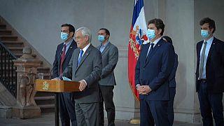 Sebastián Piñera, presidente de Chile (captura de pantalla)