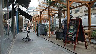 Terrasse parisienne, 29 avril 2021