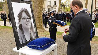 Во Франции почтили память Стефани Монферме