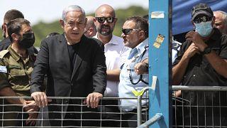 رئيس الوزراء الإسرائيلي بنيامين نتنياهو. 2021/04/30