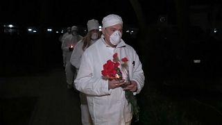 Trigésimo quinto aniversário do desastre nuclear de Chernobyl