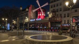 مولن روژ پاریس بدون توریست