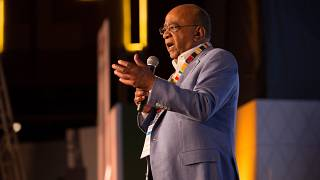 'Progress, peace & the young' key to Africa's future, says Mo Ibrahim