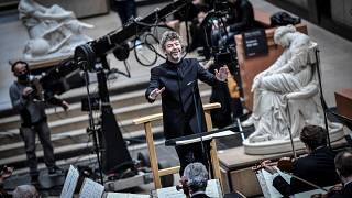 Paris orchestra teams up with museum for livestream virtual concert