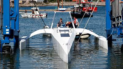 The Mayflower 400 may become the first unmanned vessel to cross the Atlantic.