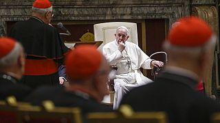 Ferenc pápa, Vatikán, 2019 (illusztráció)