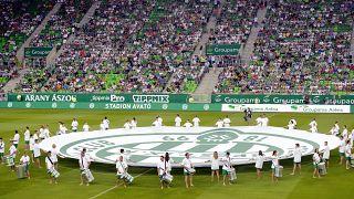 Újra lehetnek nézők szombattól a Ferencváros Üllői úti stadionjában – képünk illusztráció