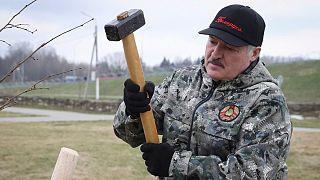الکساندر لوکاشنکو رئيس جمهوری بلاروس