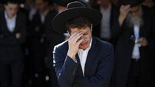 Trauer iin Israel nach tödlicher Massenpanik