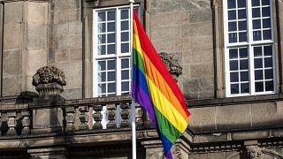 File photo of gay pride flag