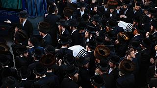 Израиль: похороны погибших на горе Мерон