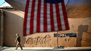 خروج نظامیان آمریکا از افغانستان