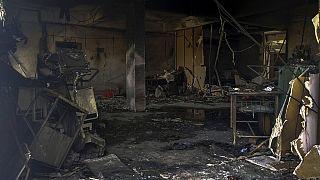 Patel Welfare hastanesinde yangın
