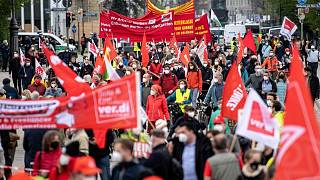 تظاهرات روز جهانی کار در آلمان