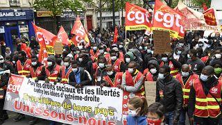 Vuelven a Europa las marchas del Primero de Mayo