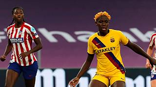 African players kick up storm in female European Champions League