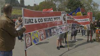 Kundgebung in Wien