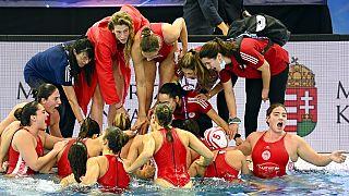 Η γυναικεία ομάδα πόλο του Ολυμπιακού