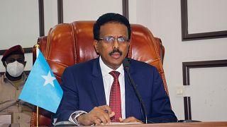 الرئيس الصومالي محمد عبدالله محمد