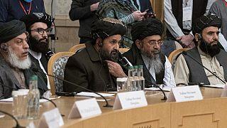 Moskovo'da Afganistan konferansına katılan Taliban heyeti