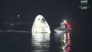 SpaceX Dünya'ya döndü