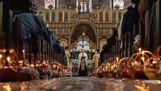 Páscoa ortodoxa condicionada pela pandemia