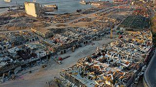 Gefährliches Gefahrgut verlässt Beiruter Hafen