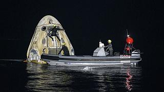 4 astronautes sont rentrés sur Terre après 168 jours à bord de l'ISS