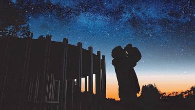 Star gazing and dark sky reserves