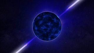 Graphical representation of neutron star