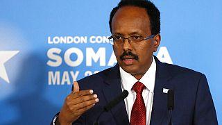 Le président somalien Mohamed Abdullahi Mohamed