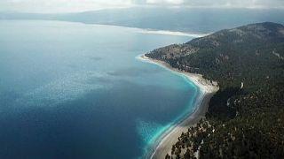 Lago de Salda sofre com popularidade