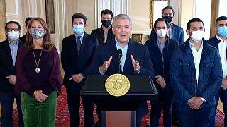 Iván Duque anuncia la retirada de su proyecto de reforma tributaria