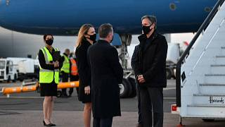 Llegada de Antony Blinken a Londres