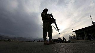 سرباز ارتش افغانستان