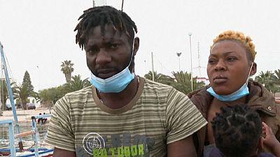 """""""L'Europe ou la mort"""", les migrants africains en Tunisie décidés à partir"""