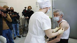 La vaccination en Russie