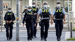 عکس آرشیوی از پلیس آلمان