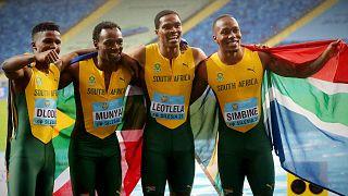 Le relais sud-africain décroche l'or aux Mondiaux